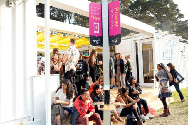 recharge stations outside lands
