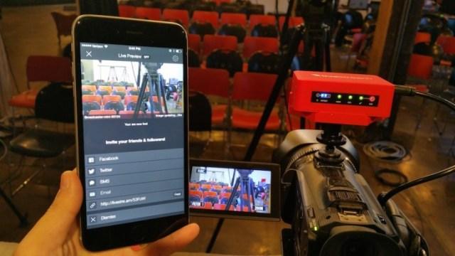 livestream broadcaster event gadgets