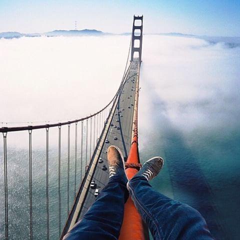 San Francisco Bridge Hang Out