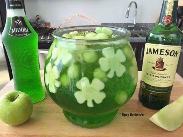 St. Patrick's Day Fishbowl