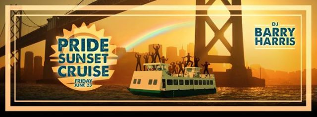 Pride sunset cruise weekend lineup