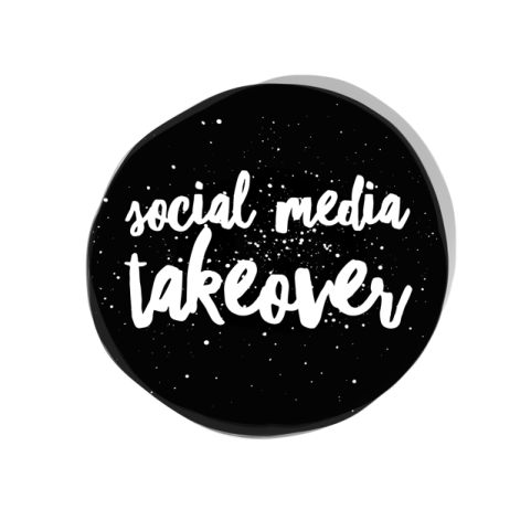 Social media takeover - event promotion