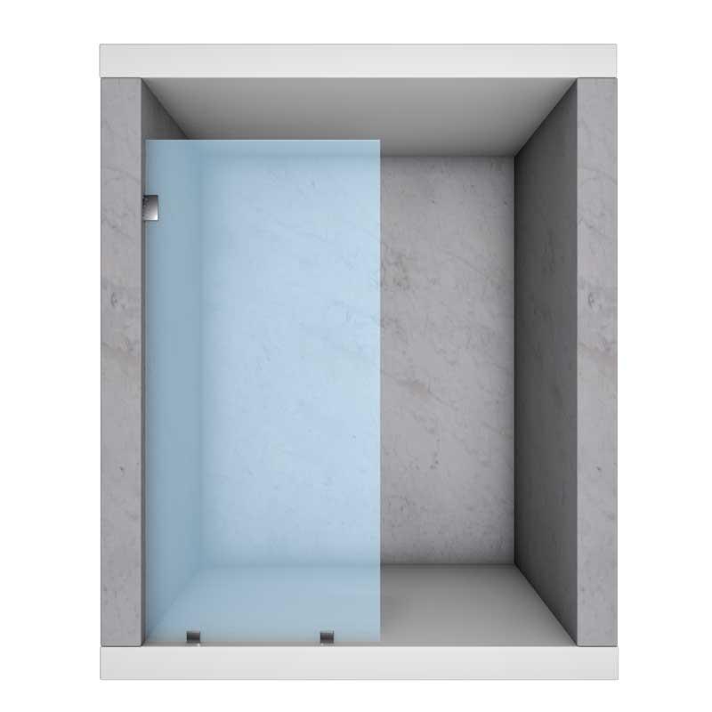 Semi Framed Glass Shower Doors