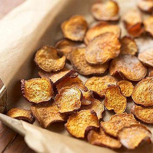 chipsy ze slodkich ziemniakow