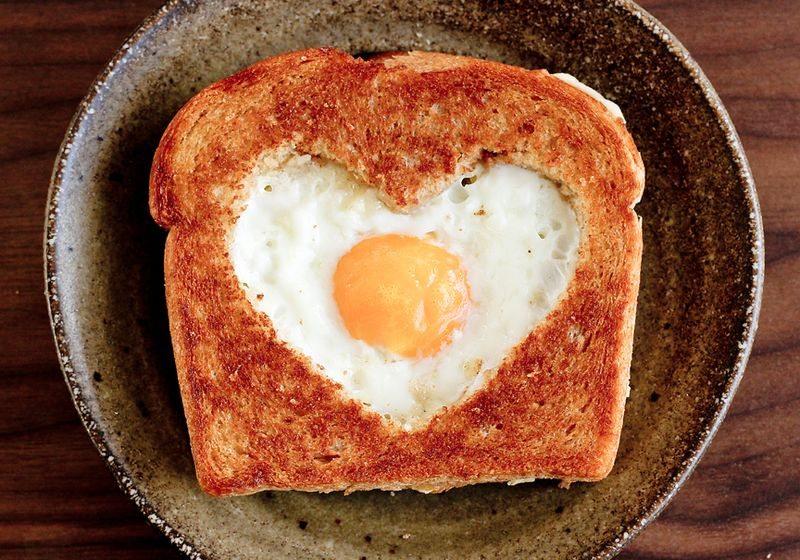 jajka z sercem