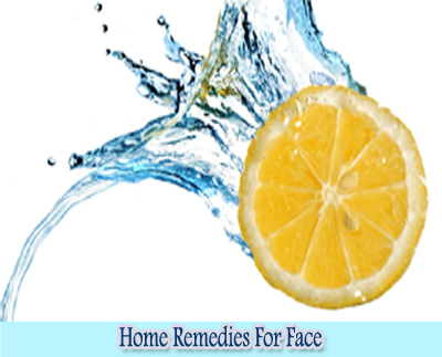 Lemon : Home Remedies for Clear Face