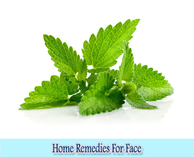 Mint : Home Remedies for Clear Face