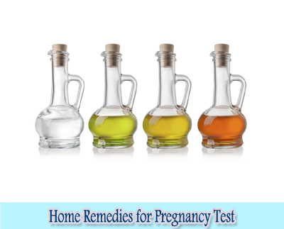 Vinegar : Home Remedies for Pregnancy Test