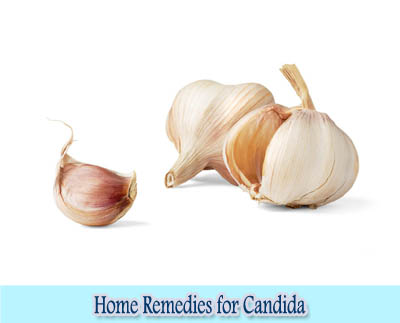 Garlic : Home Remedies for Candida