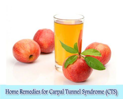Apple Cider Vinegar : Home Remedies for Carpal Tunnel Syndrome