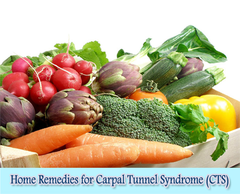Vitamin B6 : Home Remedies for Carpal  Tunnel Syndrome