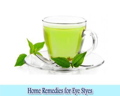 Green Tea : Home Remedies for Eye Styes