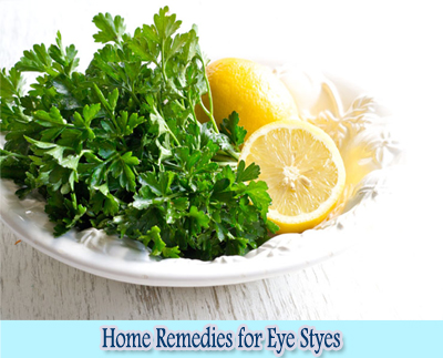 Parsley : Home Remedies for Eye Styes