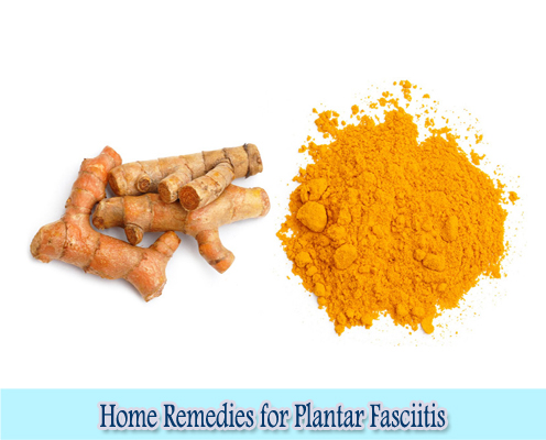 Turmeric : Home Remedies for Plantar Fasciitis