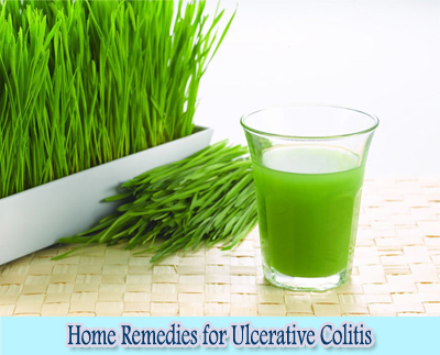 Wheat Grass Juice : Home Remedies for Ulcerative Colitis