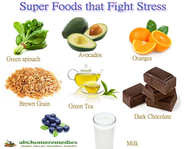 Top Ten Super Foods that Fight Stress