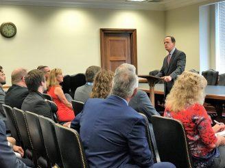 U.S. Senator Pat Toomey and ABC PA members