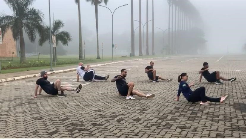 Praticantes da nova modade Movimento e Flow ( Foto: Divulgação/Box EDN)