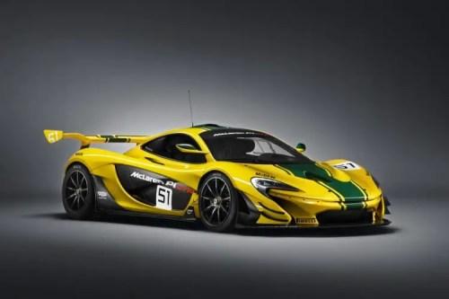 vue 3-4 avant McLaren P1 GTR