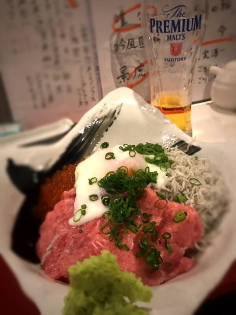 グルメ | ネギトロ丼 | 高品質で安いネイルサロンABCネイル 新宿店