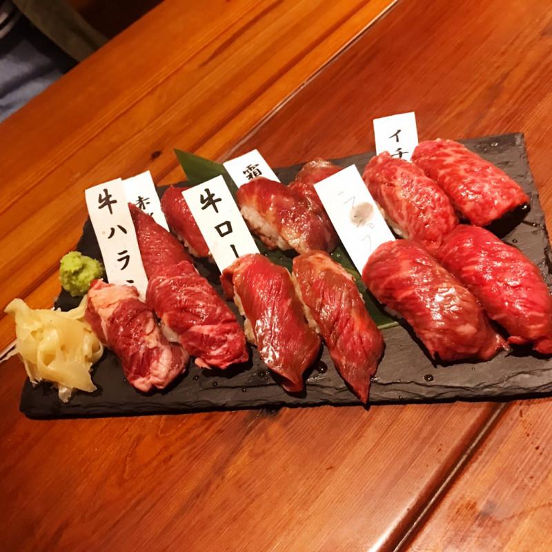 グルメ | 肉寿司 | 高品質で安いネイルサロンABCネイル 新宿店