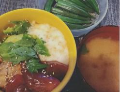 グルメ | ネバネバ丼 | 高品質で安いネイルサロンABCネイル 新宿店