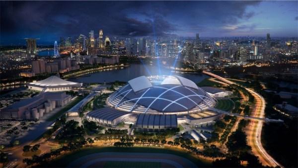 Самые впечатляющие футбольные стадионы мира (Фото ...