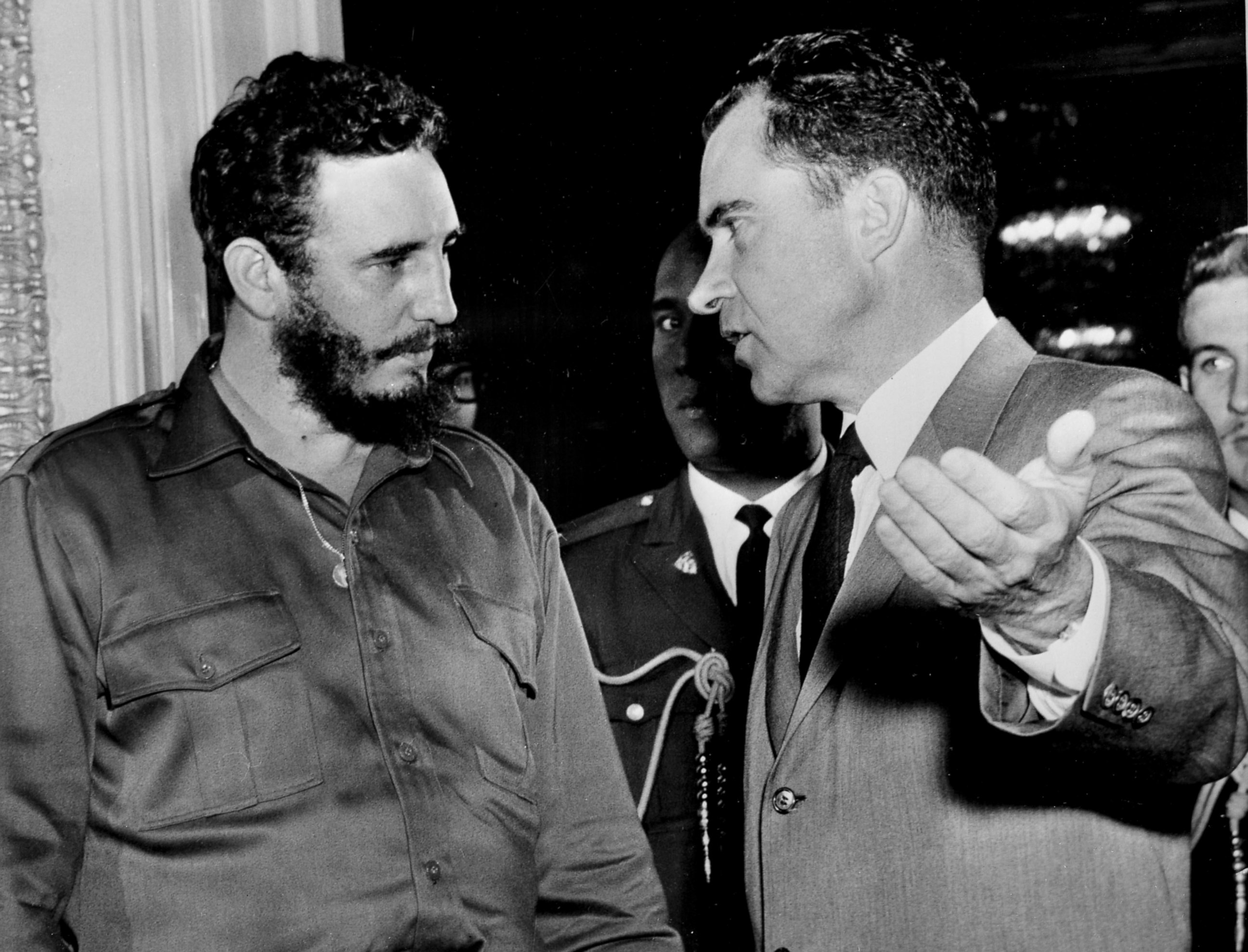 Image result for castro meeting richard nixon