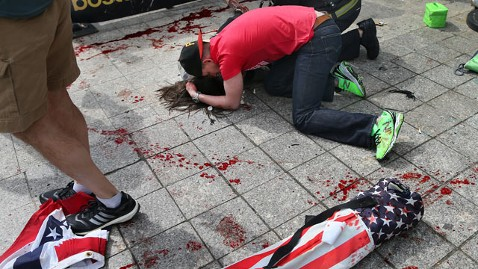 gty victim boston tk 130415 wblog LIVE UPDATES: Boston Marathon Explosion