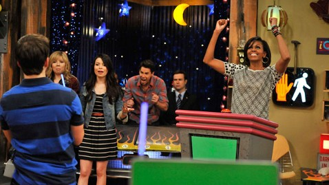Image result for michelle obama on icarly
