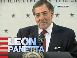 "VIDEO: Defense Secretary Leon Panetta appears on ""This Week"" Sunday."
