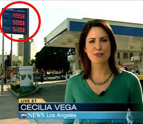 abc gas price 1 ll 120222 wblog Price Shock: Watch Cost of Gas  Jump 10 Cents During ABCs World News Broadcast