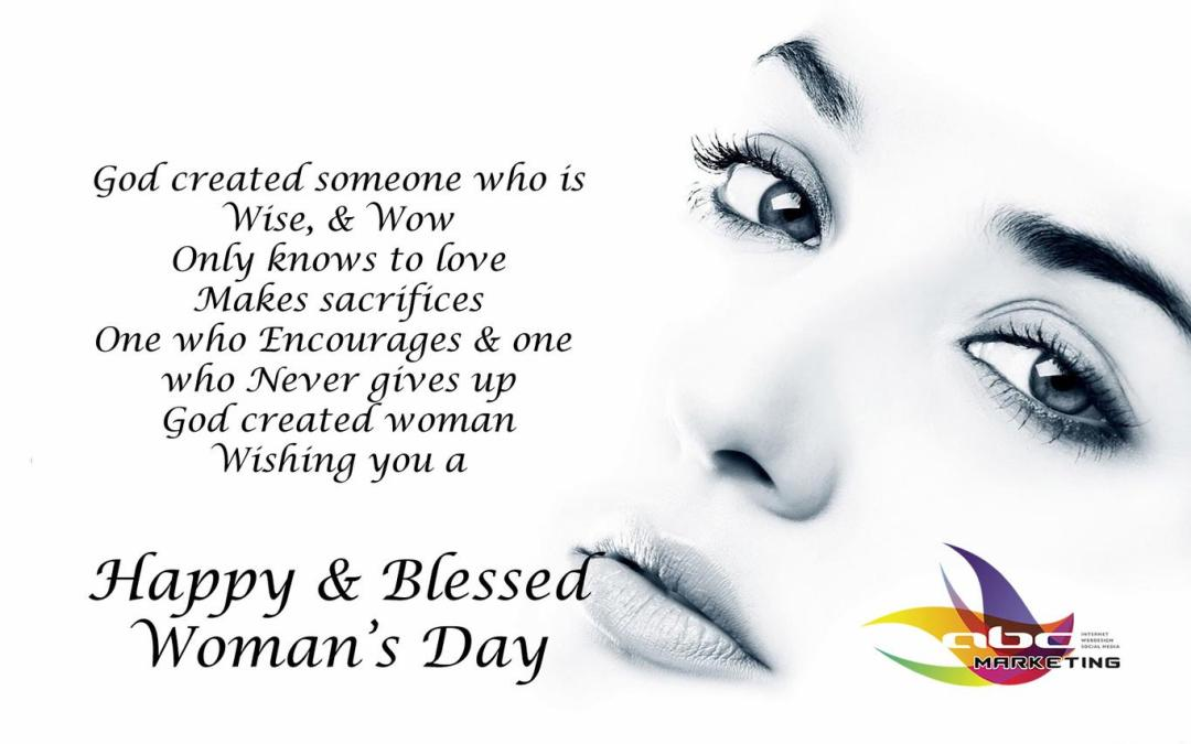 Wishing all woman Happy Woman's Day 2016