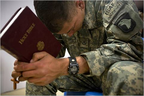 Every Soldier Needs a Savior