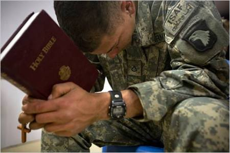 Every Soldier Needs a Savior