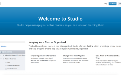 Open edX® Tutorial: Overview of Open edX® Studio