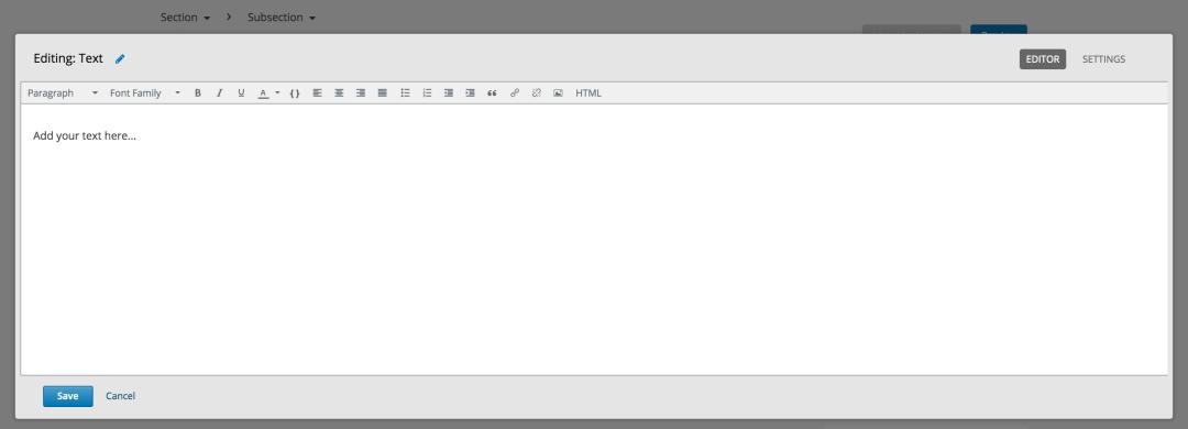 open edx studio tutorial add text