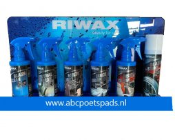 Riwax Display met producten