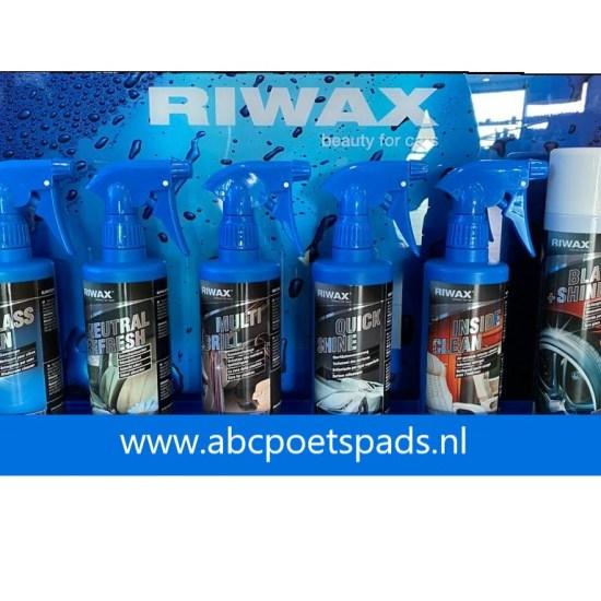 Riwax Display met producten