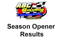 ABC 53rd Season Opener Results