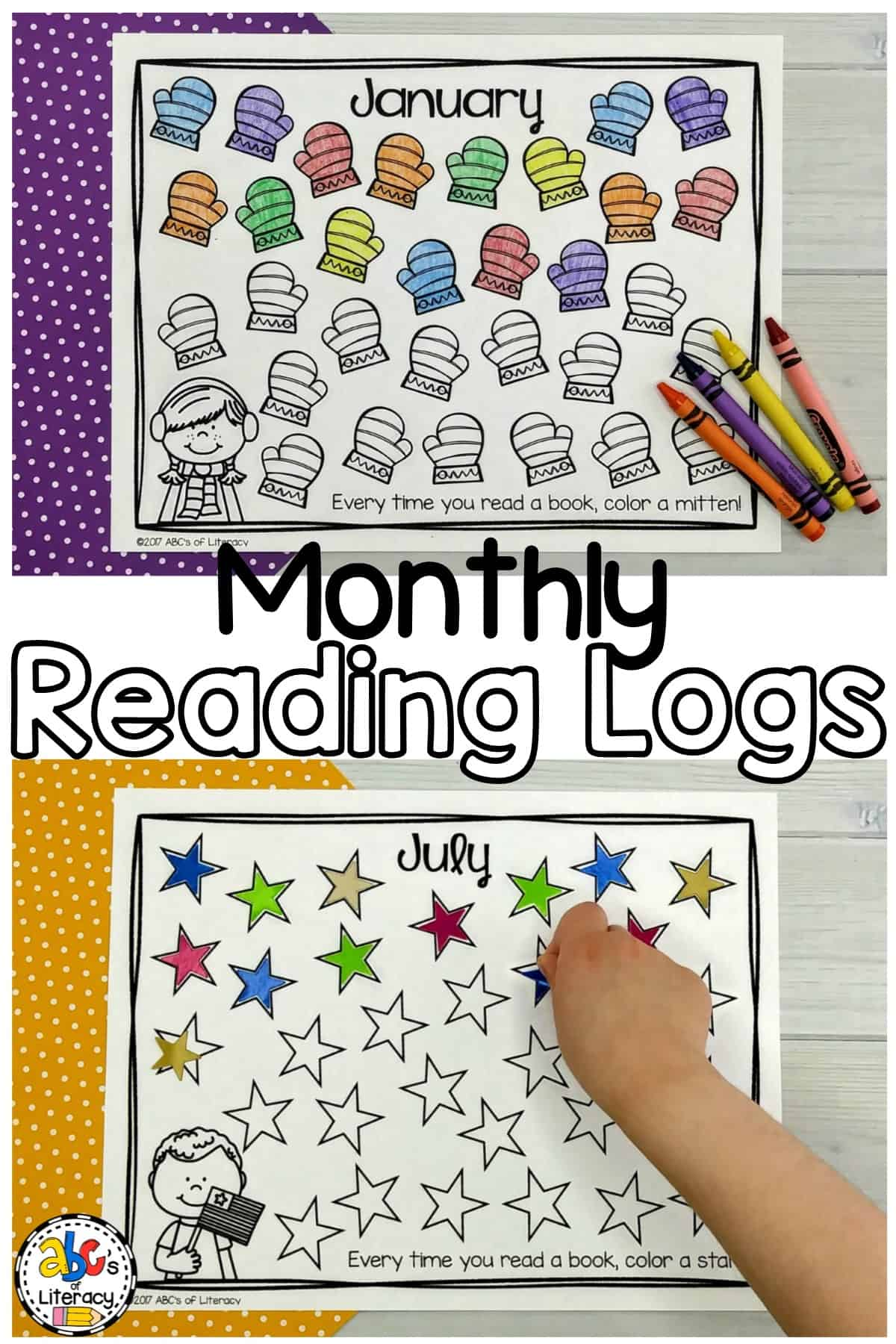 Printable Monthly Reading Logs To Motivate And Encourage