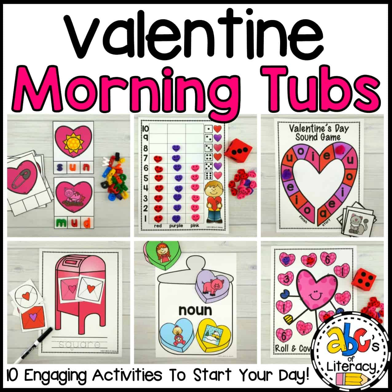 Free Printable Valentine S Day Sight Word Bingo Game