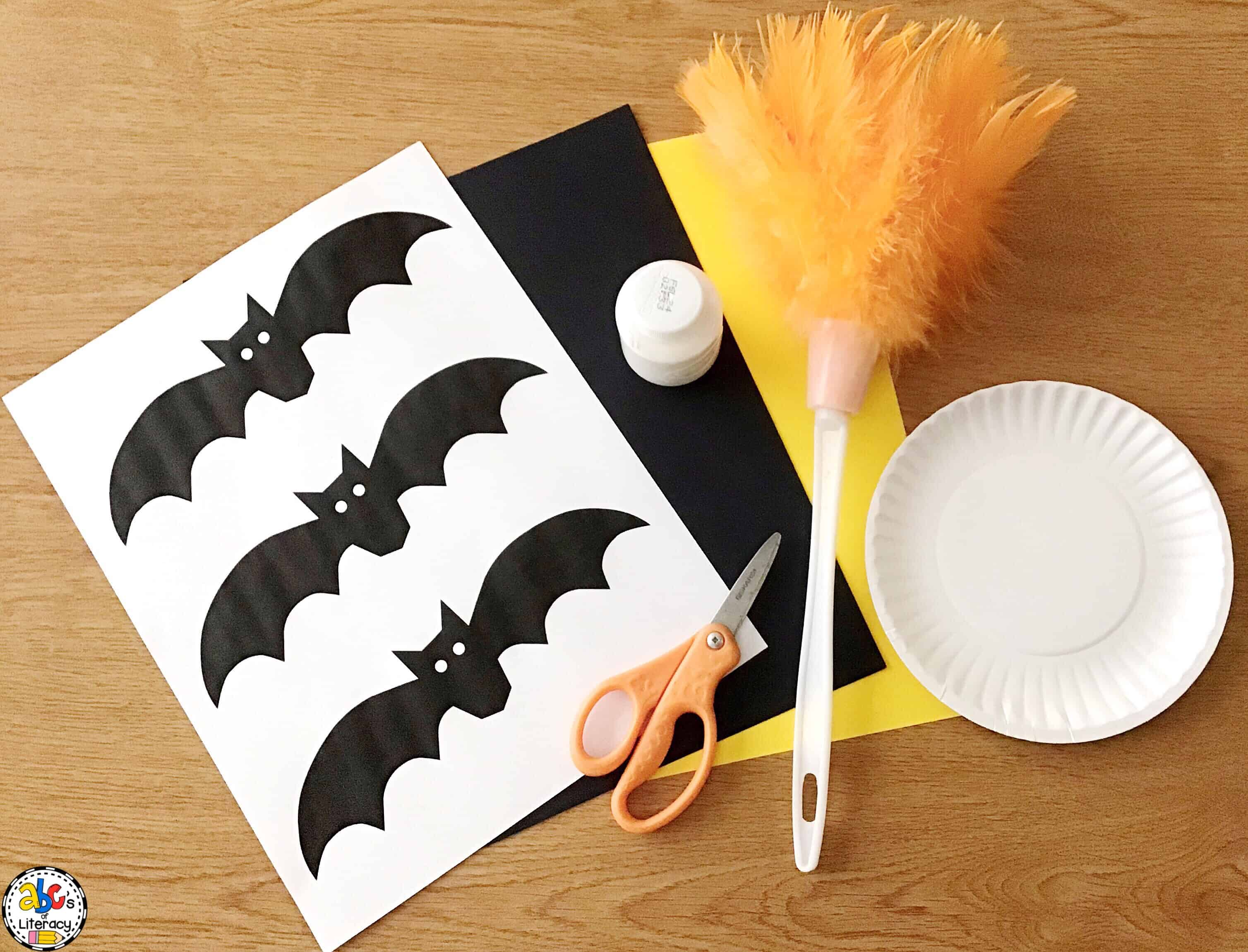 How To Make A Bat Silhouette Craft For Halloween Or Bat Unit