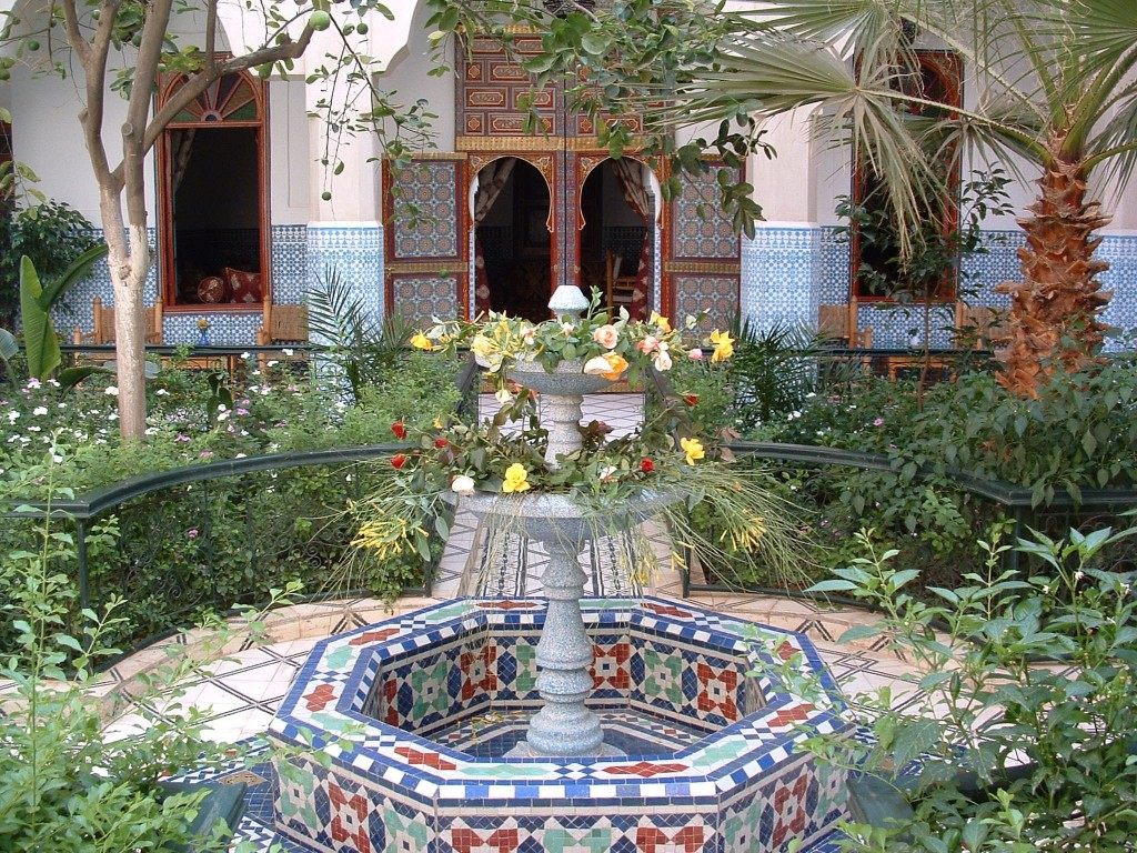 Moroccan Traditional Houses | Culture on Moroccan Backyard Design  id=78918