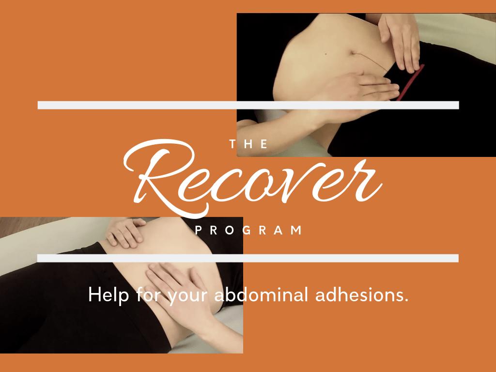 recover abdominal adhesion program