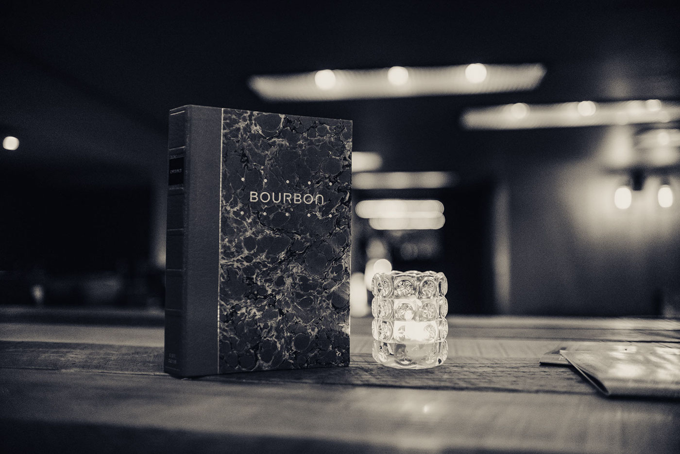 Bourbon Bar - Visual Identity