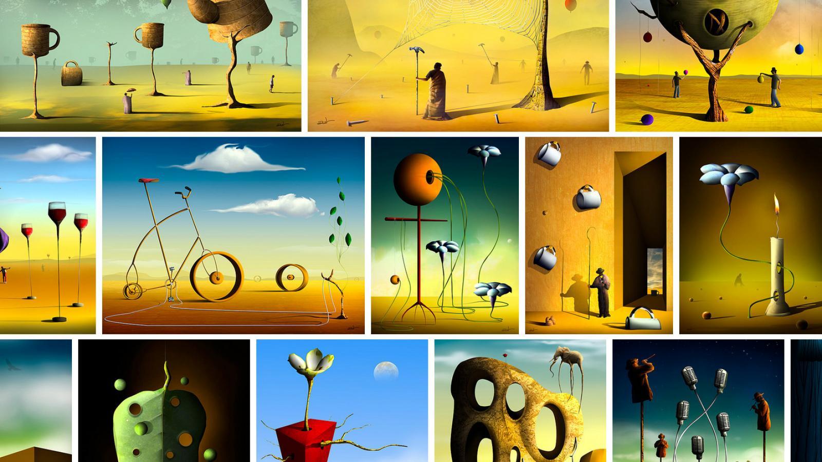Surrealism Abduzeedo