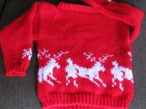 deer and snowflakes sweater (2)