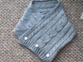 CABLED SCARF (7)