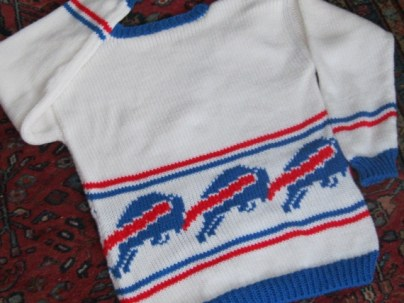 BUFFALO BILLS LOOK SWEATER